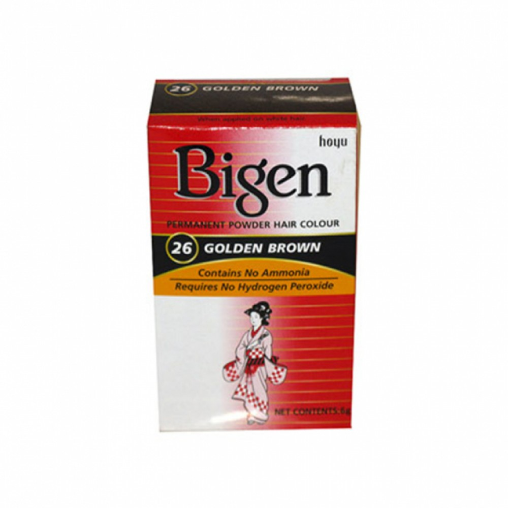 Bigen Hair Dye (26) Golden Brown