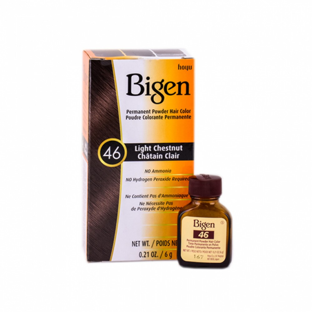 Bigen Hair Dye (46) Light Chestnut