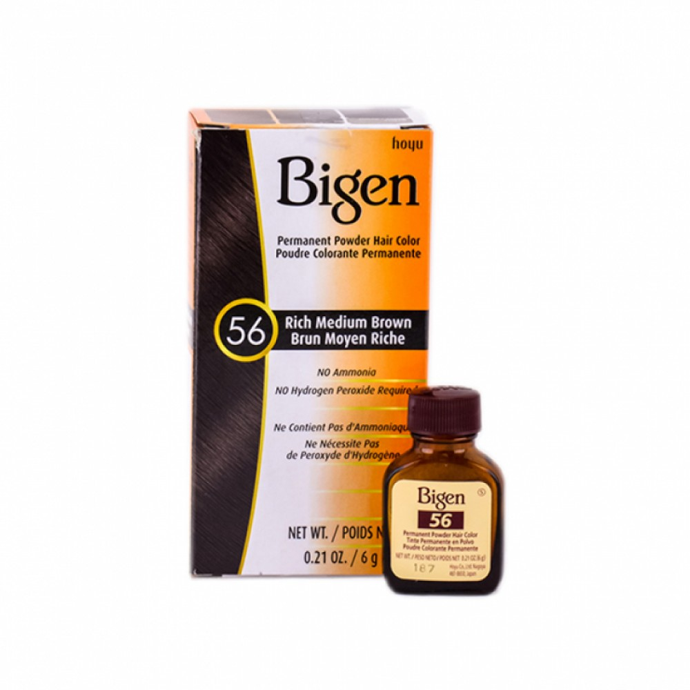 Bigen Hair Dye (56) Rich Medium Brown