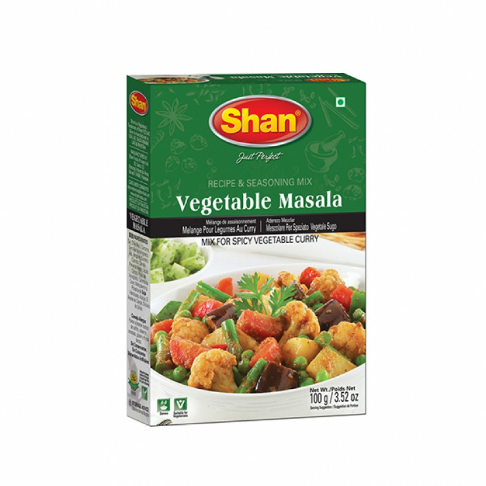 Shan Vegetable Curry Masala
