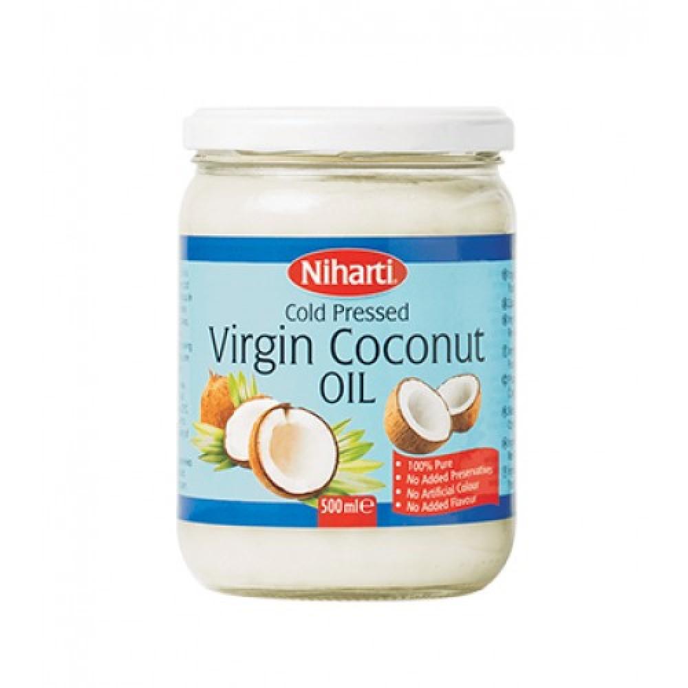 Niharti Virgin Coconut Oil Jars 500ML