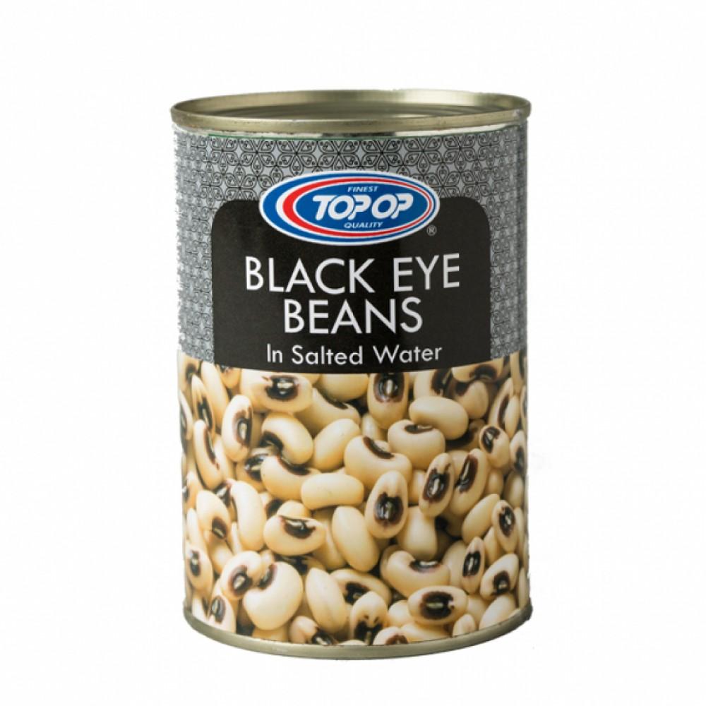 Top Op Canned Black Eye Beans