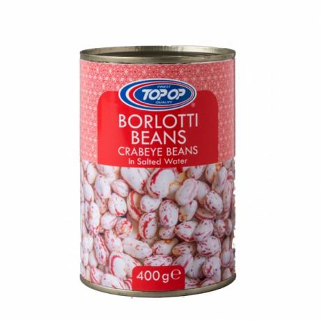 Top Op Canned Borlotti Beans