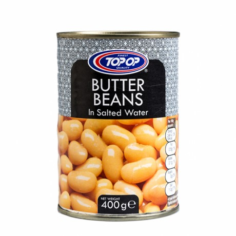 Top Op Canned Butter Beans