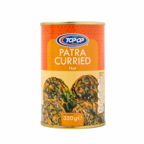 Top Op Canned Patra Curried Hot