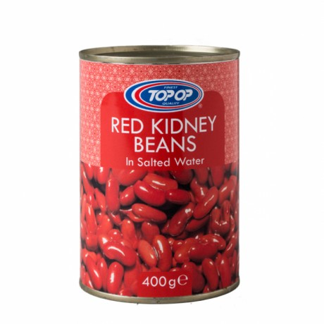 Top Op Canned Red Kidney Beans