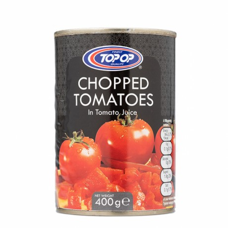 Top Op Plum Tomatoes Chopped